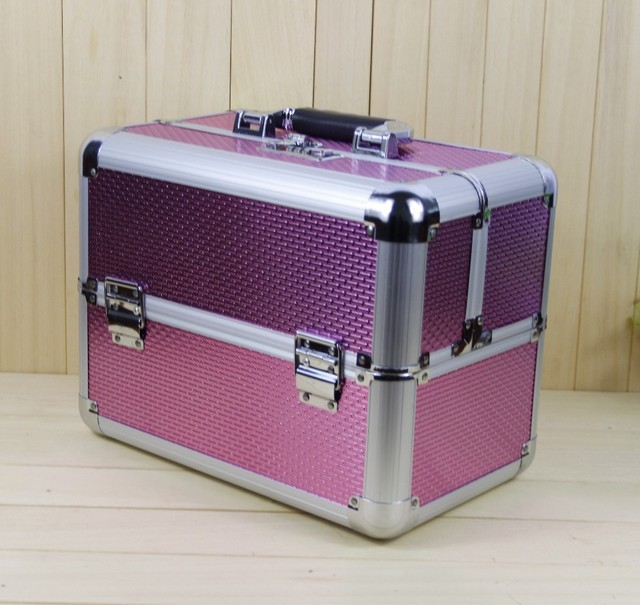 Large Cosmetic Bags Whole Necklace Earring Box Jewelry Display Case Travel Wash Makeup Bag Beauty