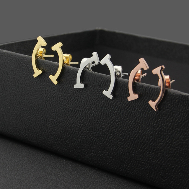 earrings alphabet gifts set z unisex item jewelry letter wholesale stud a pairs silver plated