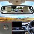 2em1 Kit Estacionamento Assistência 5 ''Carro Espelho Monitor + Car Rear View câmera Para Toyota Yaris Sedan Vios/2008 2009 2010 2011 2012