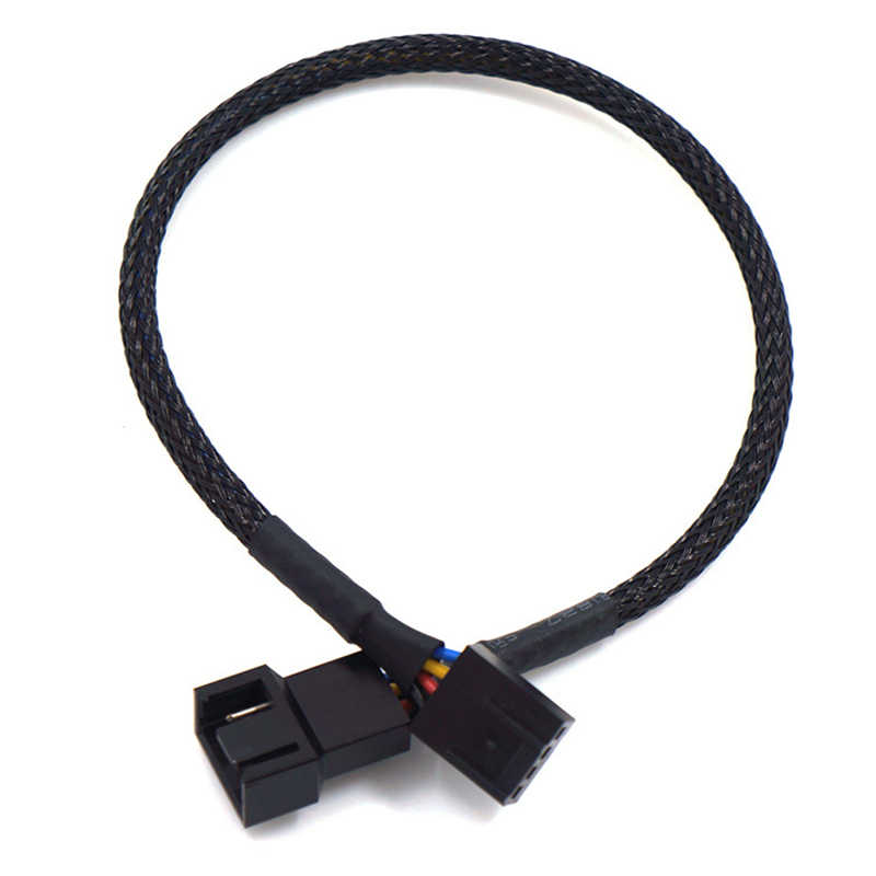 1pcs 27/42/60/80cm PWM Extension Cable Mainboard CPU 4 PIN Fan 4P Adapter Cable Computer Case 4 PIN Power Cables Connectors