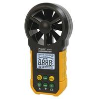 MT 4615 hand held anemometer high precision ventilation measuring instrument wind direction tester