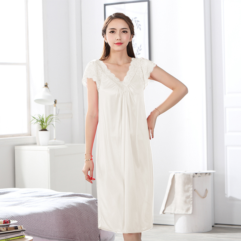 2018 Fashion NEW sexy Women's Sleepwear   nightgown   Women's Home Clothes   sleepshirt   nightdress AW6477