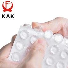 KAK 30 80 قطعة ذاتية اللصق سيليكون الأثاث منصات خزانة مصدات المطاط المخمد العازلة وسادة واقية الأثاث الأجهزة