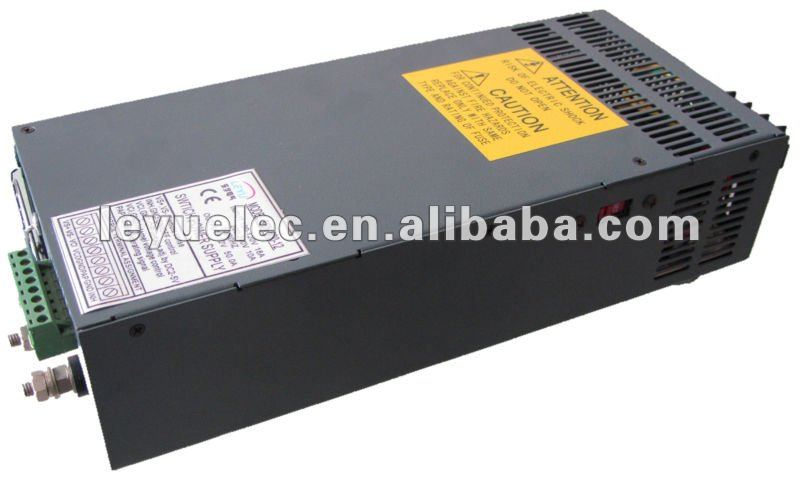High power SCN-600-5 ac dc single output Parallel function switching power supply high power series compact size and light weight scn 1000 12 with parallel function 1000w power supply