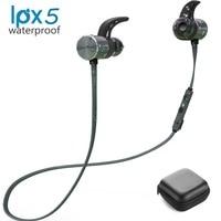 Plextone Bluetooth Sport Earphones IPX5 Blue Black Color Waterproof Wireless Headphone Magnetic Headset With Microphone With