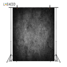 Laeacco Old Dark Fade Wall Portrait Grunge Photography Backgrounds Customized Photographic Backdrops For Photo Studio