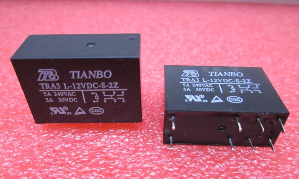 NEW relay TRA3 L-12VDC-S-2Z TRA3L-12VDC-S-2Z TRA3-L-12VDC-S-2Z TRA3-L-12VDC TRA3 L-12VDC DC12V 12VDC 12V 5A TIANBO DIP8