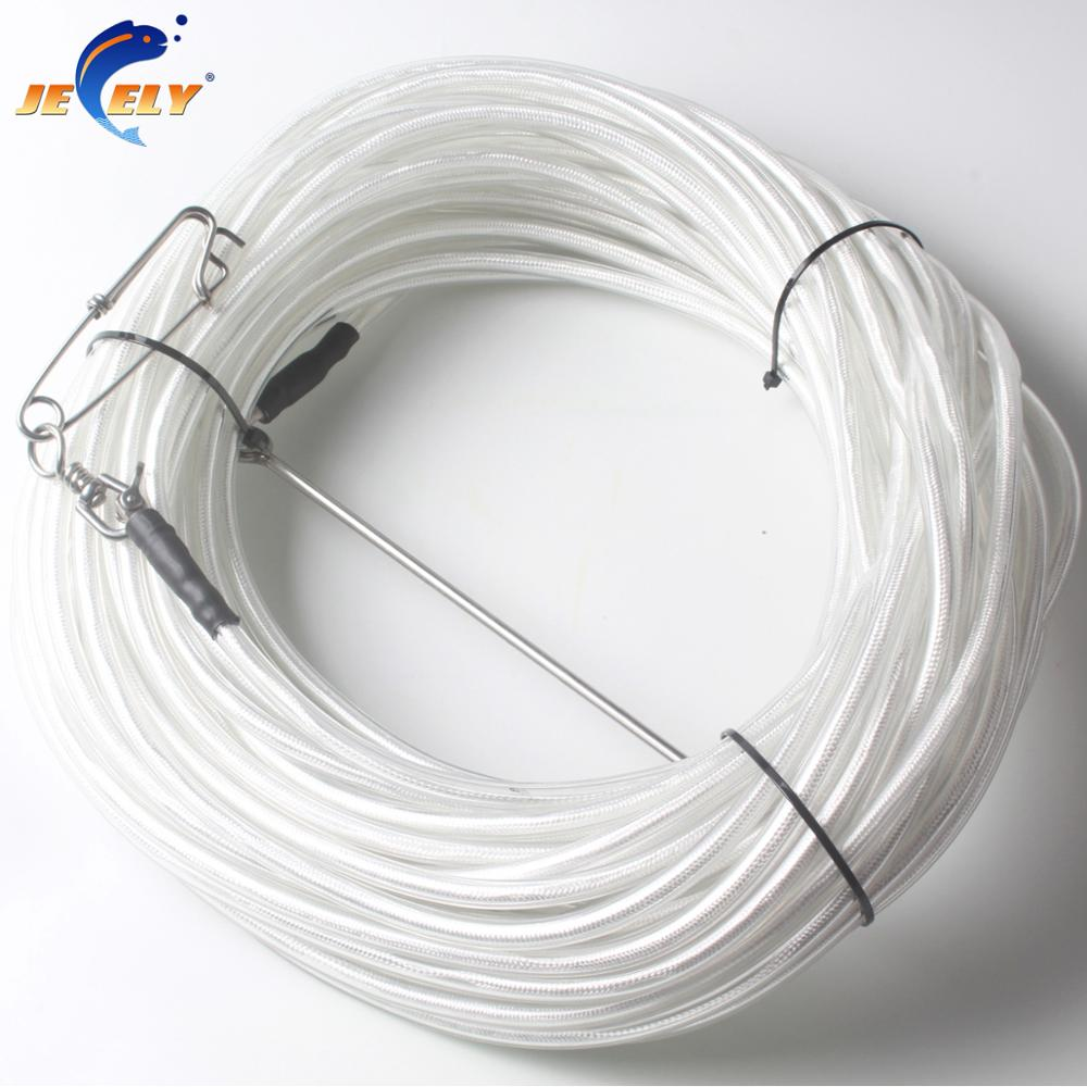 20/30M PVC Coated UHMWPE Spectra Spearfishing Band Speargun&Freediving Float Line 1400LB Breaking Strength