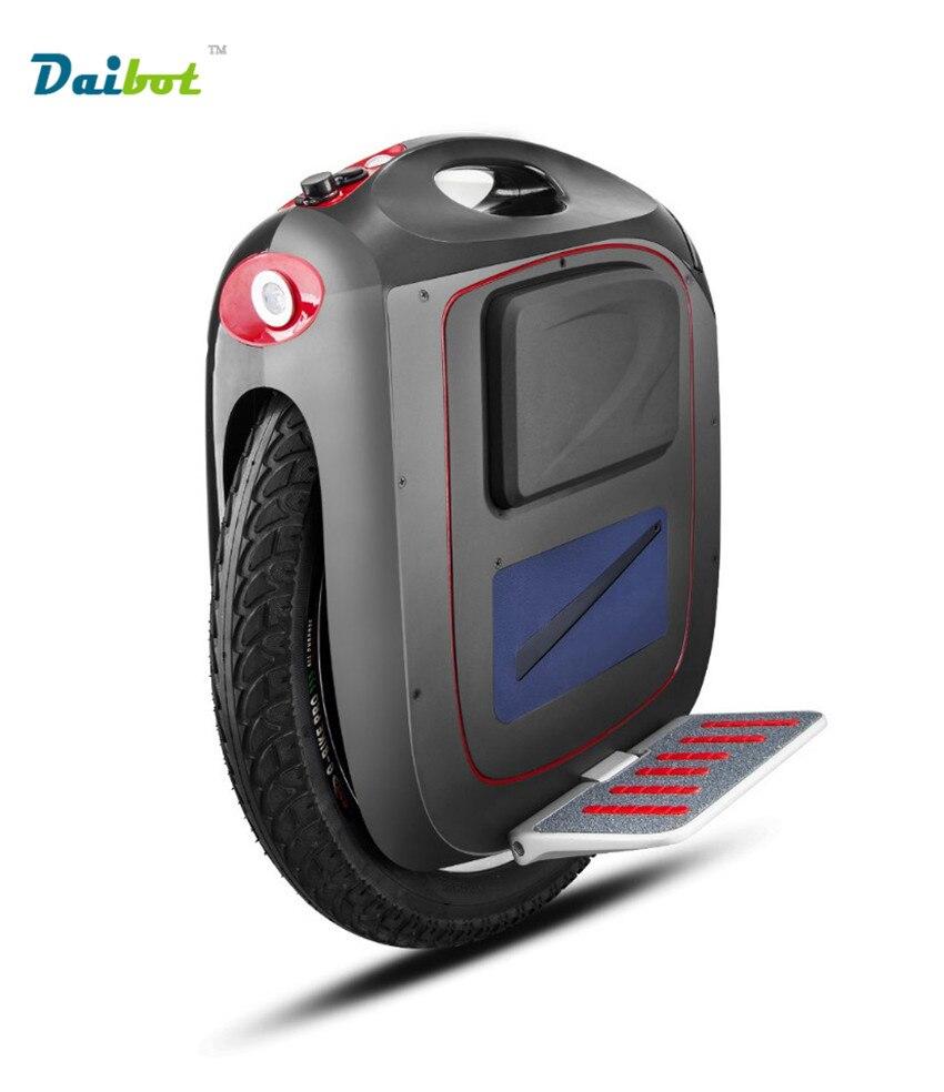 GT Msuper3 18 pouce Une Roue Hoverboard 1500 W Moteur 820WH/820WH/1600WH Haute Vitesse 50 km/h Gamme 60-150 KM Pull Rod APP