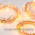 3 Sets Battery Operate 16FT 5M 50 led Garland lights Holiday Wedding Party Decoration Festival Copper Wire Fairy String Lights