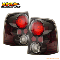 For 02 03 04 05 Ford Explorer Mountaineer Tail Lights Black USA Domestic Free Shipping