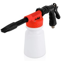 Powstro Car Cleaning Foam Gun Multifunctional Washing Foamaster Gun Water Soap Shampoo Sprayer 900ml for Van Motorcycle Vehicl