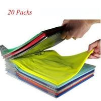 20Packs Clothes Organizer System Fold Board File Cabinet Organization for Home Desktop Storage,File Storage,Travel Admiss