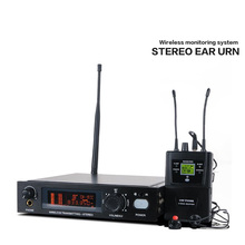 EM9800 высококачественный стерео приемник+ беспроводная система мониторинга в уши, профессиональный сценический монитор для прослушивания микрофона