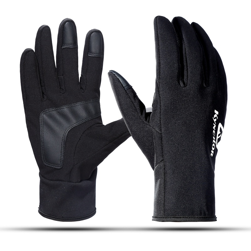 2019 Unisex Cycling Bike Gloves Outdoor Sport Warm Skiing Snowboard Mtb Riding Gloves Black Touch screen Windproof H