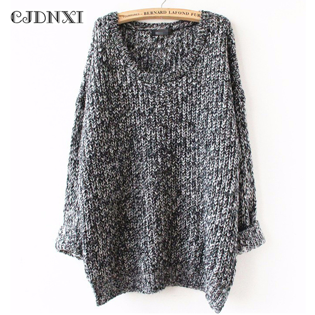 Aliexpress.com : Buy Oversized Sweater Autumn winter sweaters ...