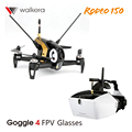 Walkera Rodeo 150 FPV Mini Drone with Camera 600TVL Devo 7 Racing Drone Goggle 4 Glasses VS Xiaomi Drone rc helicopter