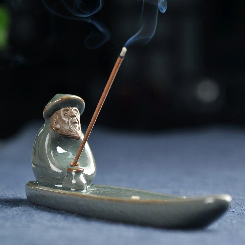 Pesce Weng riscaldatori di bobina di incenso di ceramica incensiere che si trova incenso e incenso profumatoPesce Weng riscaldatori di bobina di incenso di ceramica incensiere che si trova incenso e incenso profumato