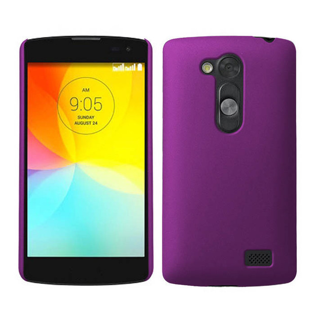Ultra Thin Hard Rubberized Plastic Snap On Cover Case For LG G2 Lite D295