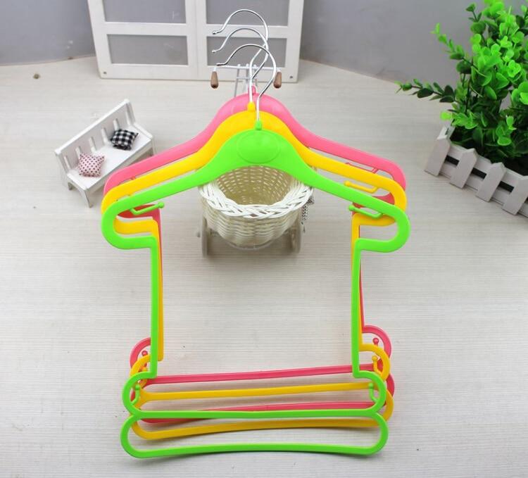 Hangerlink Stil i Ri Petite plastike e varur për foshnje, fëmijë, - Magazinimi dhe organizimi në shtëpi - Foto 3