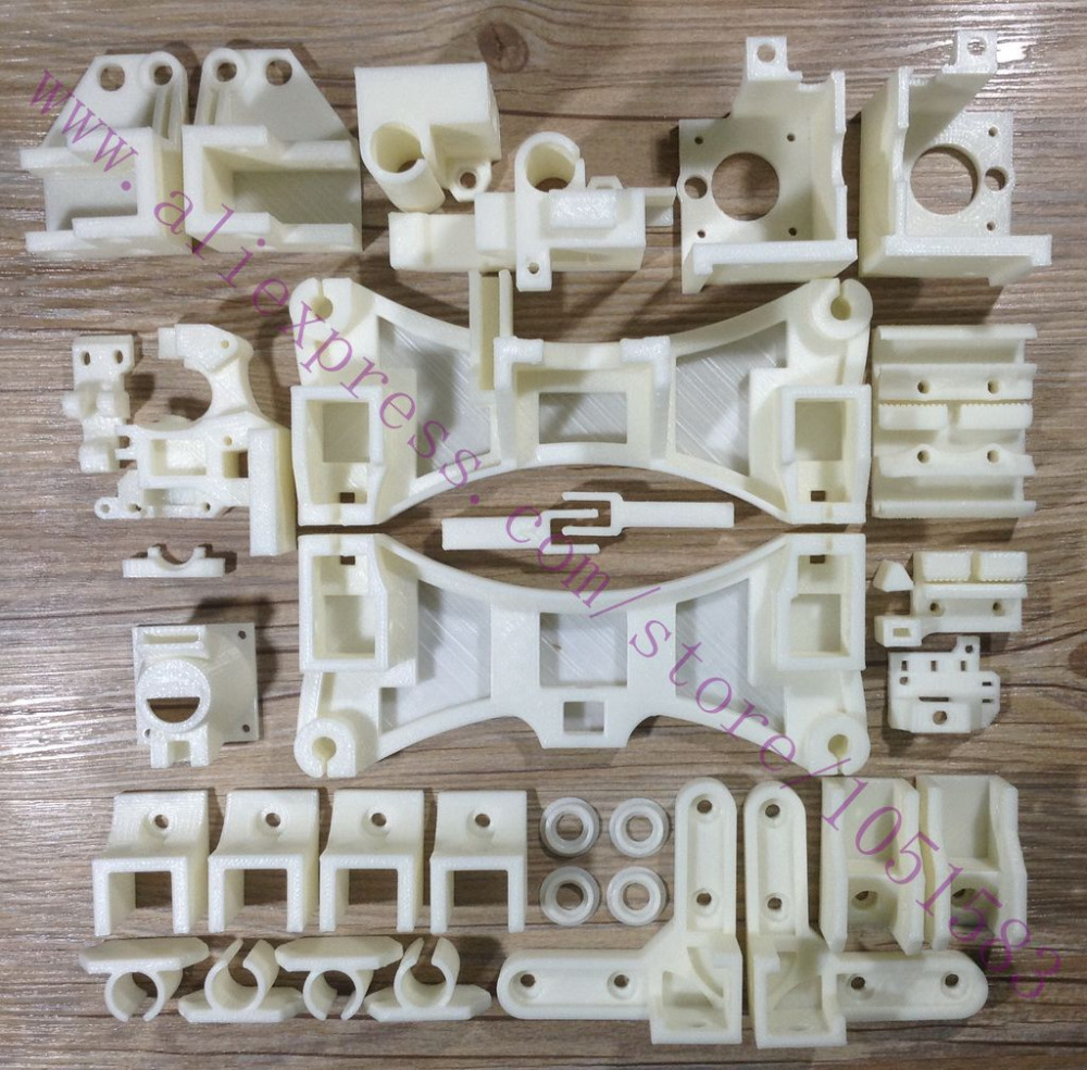 2015 Newest Required Reprap Wilson TS 3D Printer Updated Printed Parts Kit Plastic Parts Kit, Used for Standard J-head Hotend image