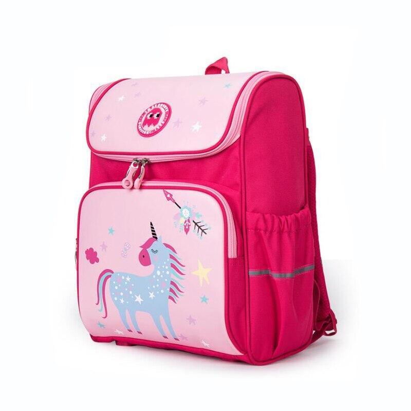 Sacs d'école pour enfants imperméables sacs à dos d'école orthopédiques filles garçons sacs d'école primaires enfants cartable mochilas infantil-in Sacs d'école from Baggages et sacs    1