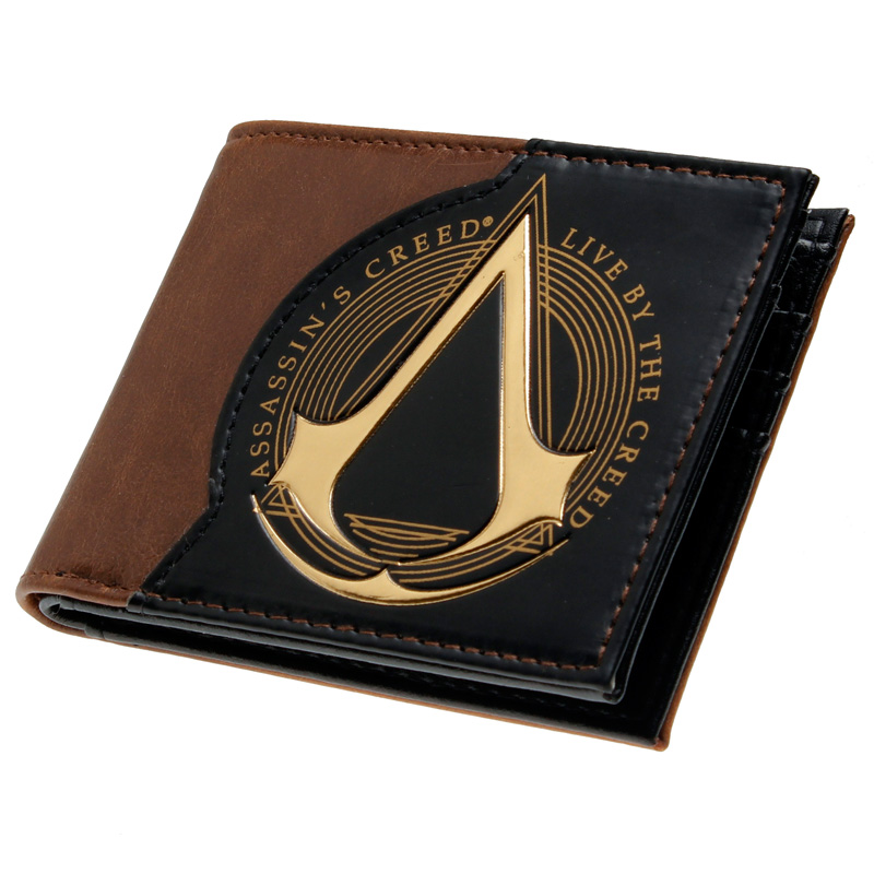 Assassins creed wallet  DFT-1918 assassins creed 4 black flag wallet dft 1139