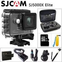 Original SJCAM SJ5000X Elite Gyro Deporte Cámara de Acción WiFi 4 K 24fps 2 K 30fps Buceo 30 M Impermeable NTK96660 SJ CAM Deportes DV