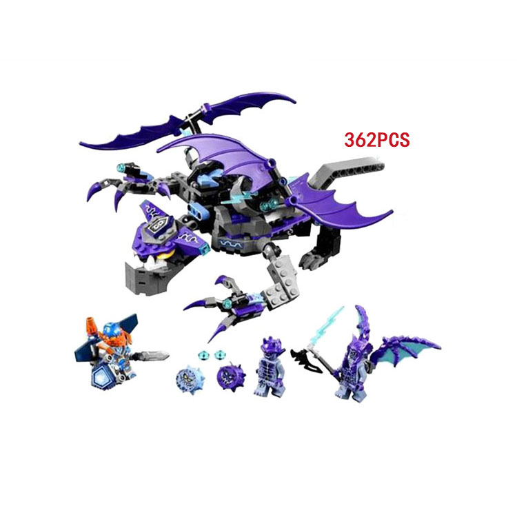 2018 next cavalier nexus knights The Heligoyle dragon building block Clay devil figures bricks Lepine 70353 DIY toys for boy the boy next door