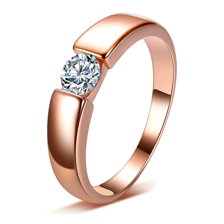 Wedding-Rings 925-Sterling-Silver Bestselling Jewelry Zircon Promotion Gift Men CZ Shiny