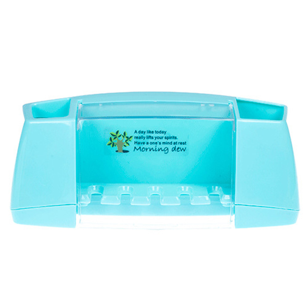 Hot Sale multifunctional toothbrush holder box bathroom accessories suction hooks tooth brush holder