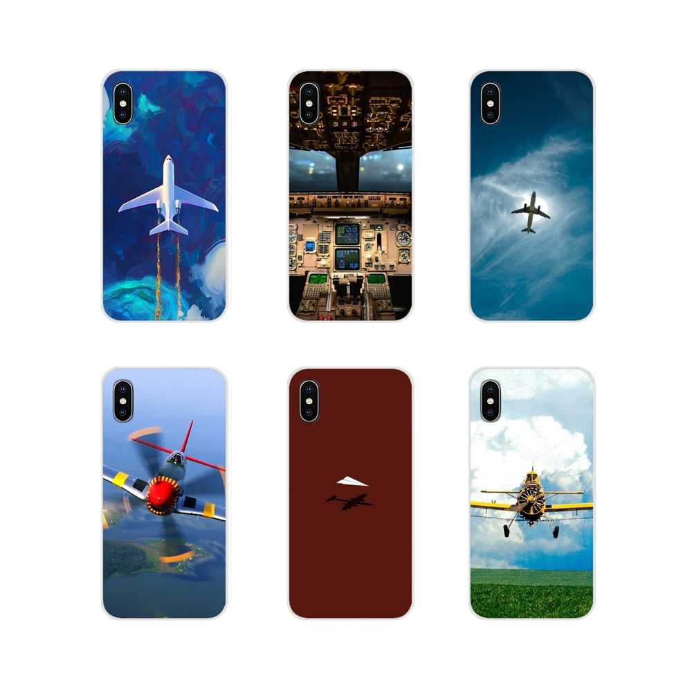 Аксессуары чехлы для телефонов Xiaomi Mi6 A1 5X 6X Redmi Note 5 5A 4X 4A 4 3 Plus Pro pocophone F1 Plane