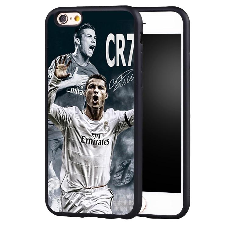 Cristiano Ronaldo CR7 Love Football phone Case cover for iPhone 7 7PLUS 6 6S 6PLUS