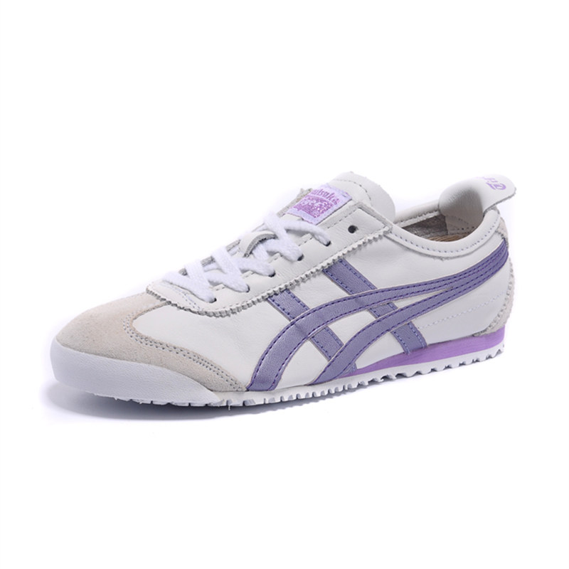 best sneakers 45087 6a9ee 2018 ONITSUKA TIGER Women Shoes White Purple Tiger Claw ...
