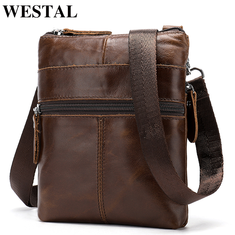 WESTAL Messenger Bag Mens Genuine Leather Small Pouch Bags for phone casual Crossbody Bags Men Bags Leather Messenger flap 2222WESTAL Messenger Bag Mens Genuine Leather Small Pouch Bags for phone casual Crossbody Bags Men Bags Leather Messenger flap 2222