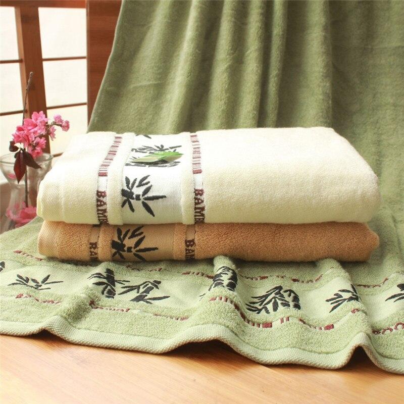 Novi 70x140cm bijeli ručnici od pamučnog ručnika za kupanje mekani - Tekstil za kućanstvo - Foto 4