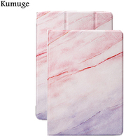 Case For New IPad 9 7 2017 Marble Grain PU Leather Tablet Cover Case For IPad