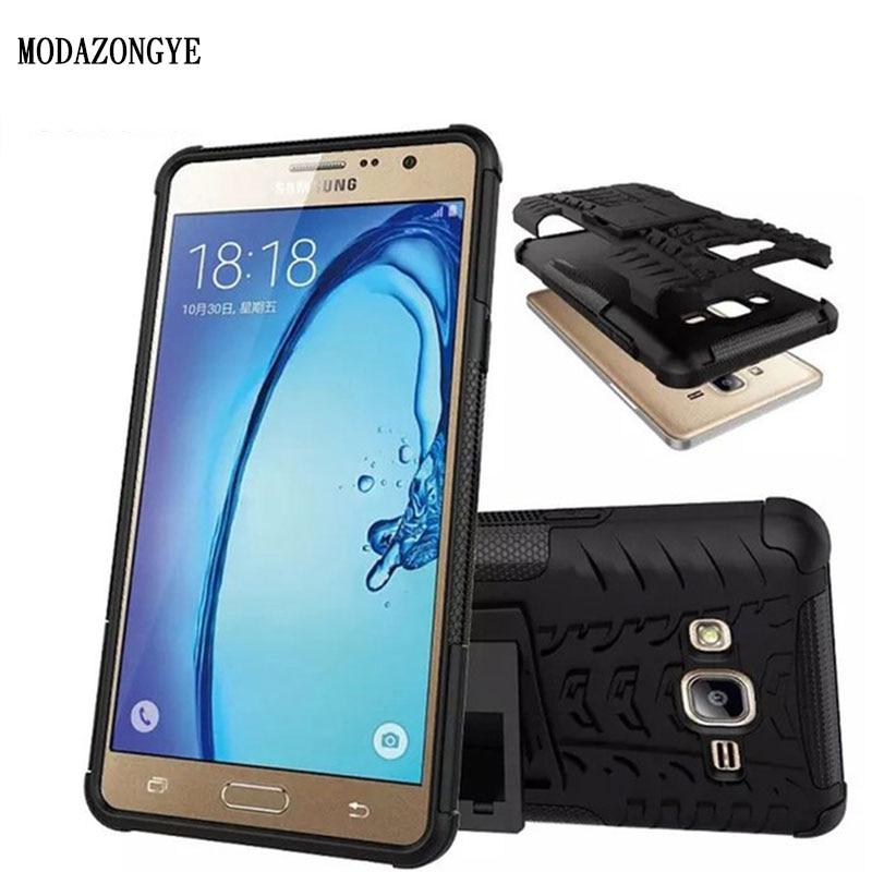 Pour Samsung On5 Cas De Luxe Hybride TPU Antichoc En Silicone Housse Dur Galaxy O5 G5500 Retour Couverture