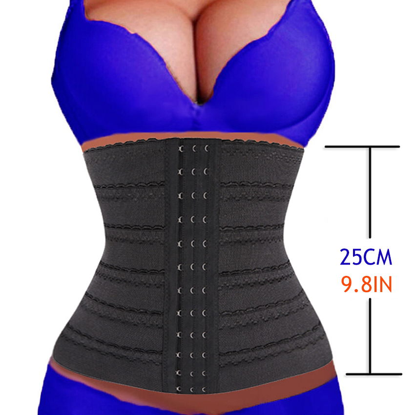 New womens waist trainer corsets to reduce weight shapewear waist trainer corset cincher waist trainer belt body shaper