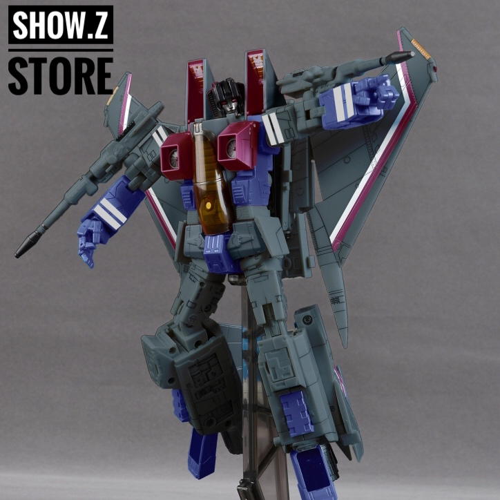 [Show.Z Store] Yes Model YM08 MP-11 Green Version BBQ BB7 YM Masterpiece Transformation Figure Toy enhanced windsock wind vane double frame skeleton