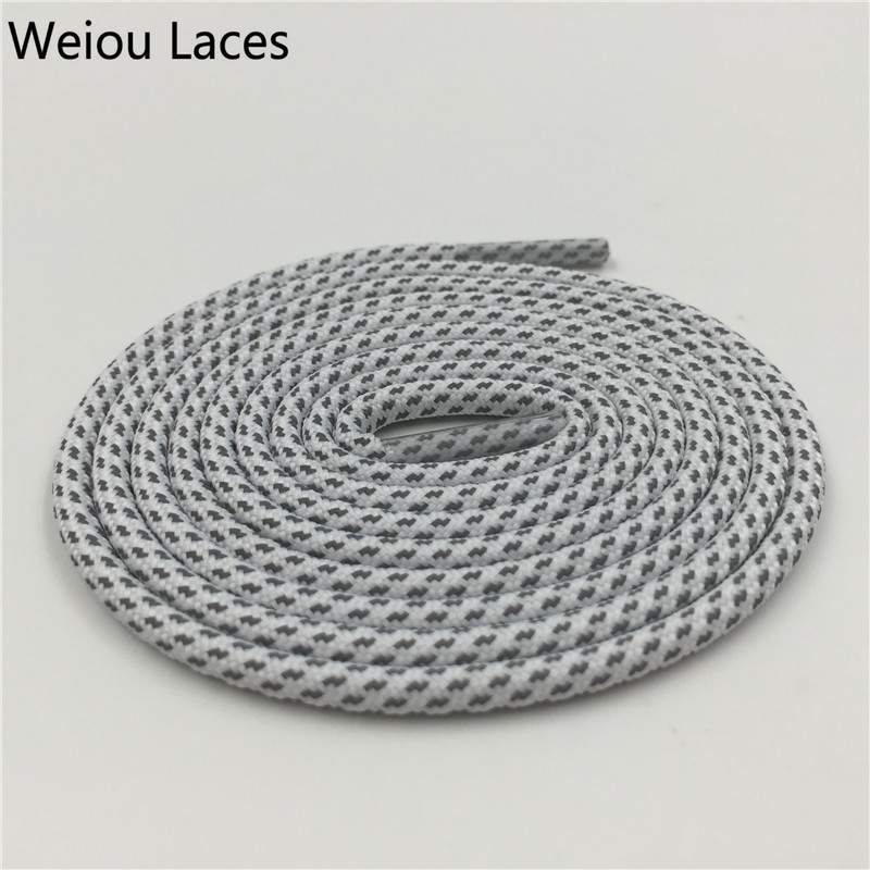 Weiou Creative New Lace Designs Reflective Shoelaces Magic White 3M Rope Laces Sports Pretty Shoestring For Shoes Boost 350 V2 oumily reflective multi purpose paracord nylon rope cord reflective grey 30m 140kg