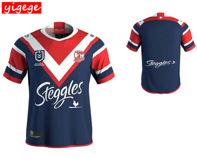 8afbc43ce 2019 SYDNEY ROOSTERS Home rugby Jerseys NRL National League rugby shirt nrl  jersey Australia shirts s-3xl