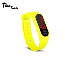 Sport Men Women Digital Bracelet Watches Man Ladies Fitness LED Wristband