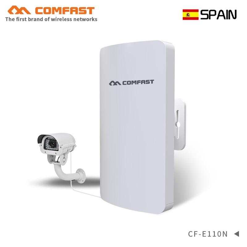 1-2 KM mini extérieur sans fil cpe pont wifi émetteur wifi récepteur antenne 300 Mbps wi-fi amplificateur booster répéteur pour caméra IP