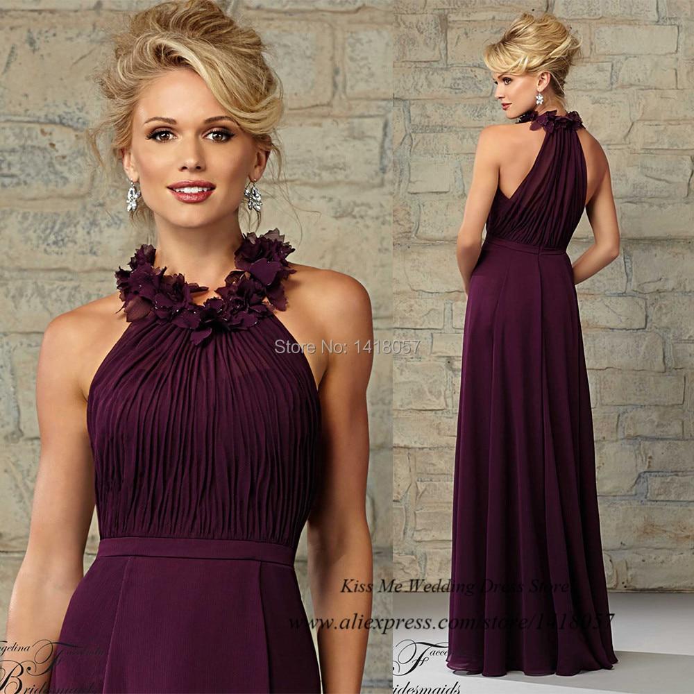 Online Buy Wholesale purple bridesmaid dress from China purple ...