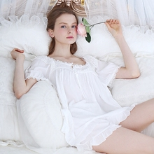 JRMISSLI Prinsty Lace Pijamas Mujer Summer  Women Femme Feminino Cotton Sleepwear Two Piece Shorts Family Pajamas Set