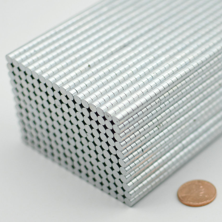 200-5000pcs NdFeB Disc Magnet Diameter 4.95x3 mm Jewelry Micro Neodymium Permanent Magnets N42 Zinc Plated Axially Magnetized 1 pack dia 6x3 mm jelwery magnet ndfeb disc magnet neodymium permanent magnets grade n35 nicuni plated axially magnetized