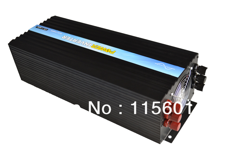 24v-dc 100v-ac Pure Sine Wave Inverter 5kw <font><b>Solar</b></font> <font><b>Panel</b></font> Inverter America Sockets Factory Direct Sellling image