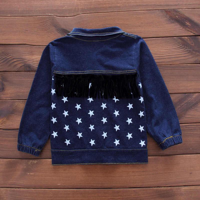 2019 סתיו ילדי תינוק ילד בגדי סטי ילדי בגדי חליפות מגניב סגנון מעילי T חולצה מכנסיים 3pcs תינוקות בנים תלבושות 12 M-4 T