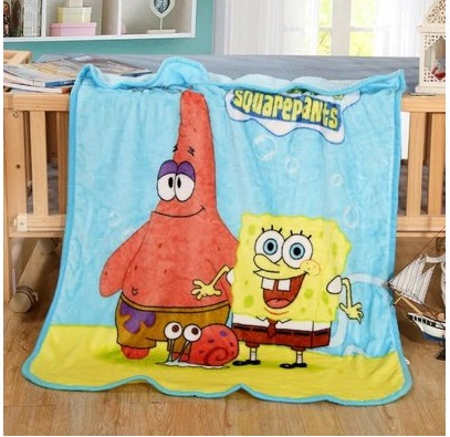 591e307d5e Winter Baby Blanket  Children Girl s Soft Coral Quilt 100 140cm Hello kitty  Cartoon Characters plaid fleece Blankets Wholesale-in Blanket   Swaddling  from ...